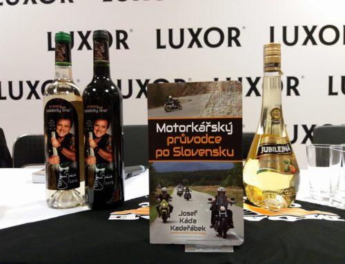 Křest Motorkářského průvodce po Slovensku