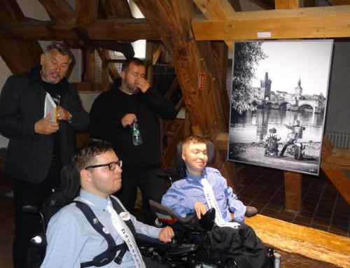 Autorské čtení z knihy Duchennovi jezdci /Author's reading from Duchenne's book 🙂