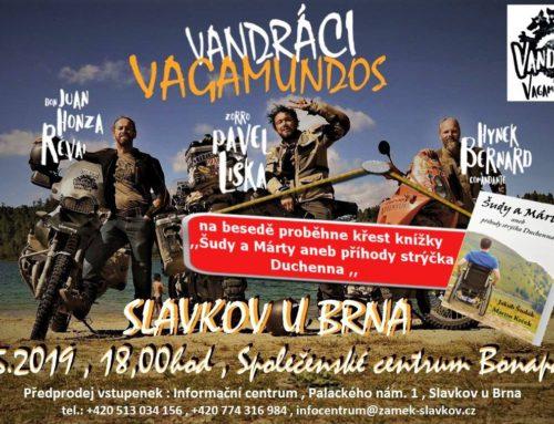 Vandráci Vagamundos aneb cestopisný večer.
