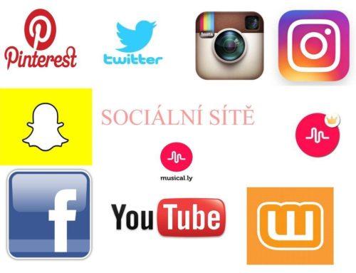 Sociální sítě.