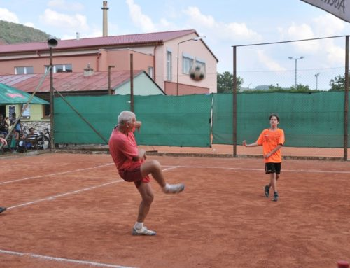 Slamákový turnaj v nohejbale 2019 🤠👩🌾⚽️