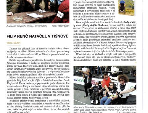 Vyšel nám nový článek v Tišnovských novinách 📰👓☕️😊